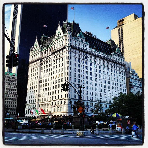 The Plaza Hotel #nyc  (Taken with Instagram)