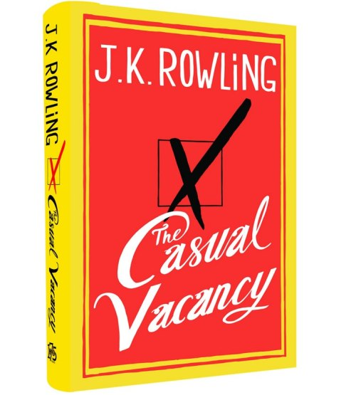 JK Rowling's new book, The Casual Vacancy, was released today. We are exciting to be reading it in October with the #BiggerBookClub. Will you be reading along? Check out this review from The Huffington Post: http://ht.ly/e2o26