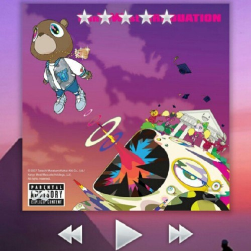 Good morning. #classic #graduation #kanye #yeezy #music  (Taken with Instagram)