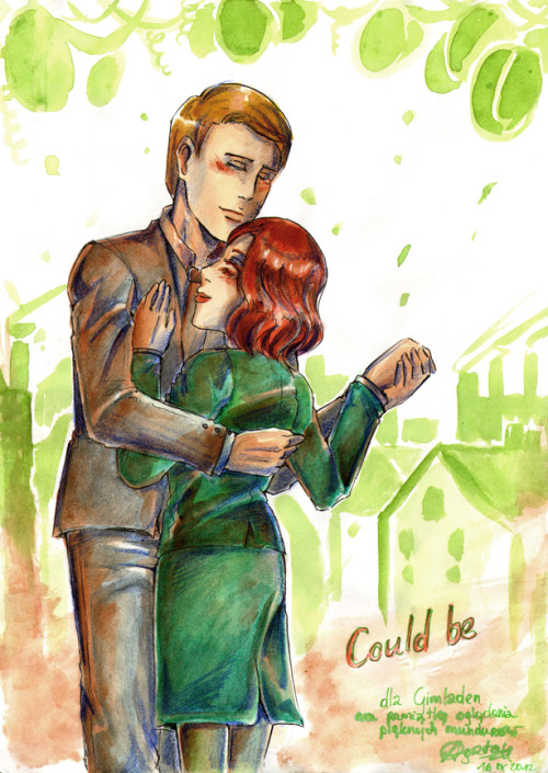 little-lady-punk:  ' Could be ' For  Gimladen. My fav het pairing in Marvel's movies! (after Clintasha, okay?) Steve Rogers and Peggy Carter from 'Captain America' (c) MARVEL