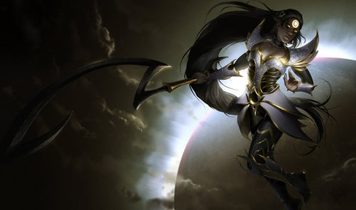 anathehjackson:  thekawaiiod:  League of Legends: Eclipse Diana by ~GisAlmeida  This needs to be a thing. I'd buy it.