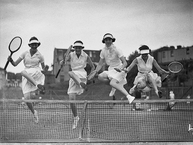 Country week tennis, 5 January 1937, by Sam Hood by State Library of New South Wales collection on Flickr.