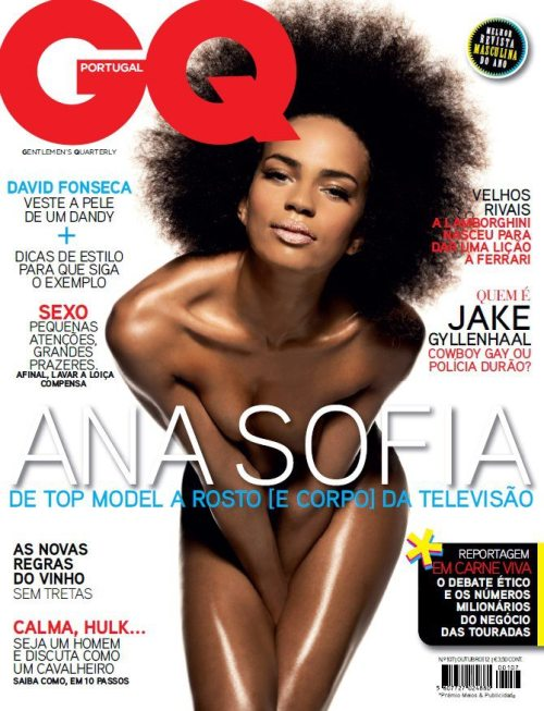 Ana Sofia Martins for GQ Portugal's October 2012 issue