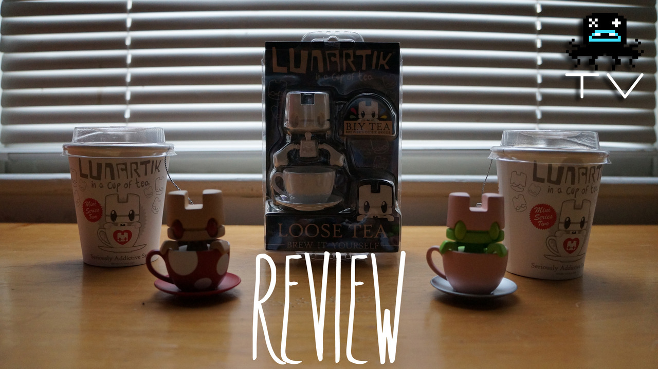 Lunartik In A Cup Of Tea Series 2 & Loose Tea Edition [Video Review] Matt JOnes was awesome enough to send us some delicious cups of tea in the form of some sweet toys! Check out the video below for a full look.  For more, check out Lunartik.com and be sure to check out the Lunartik in a Cup of Tea Official Fan Club on Facebook. Huge thanks to Mr. JOnes for the hookup!
