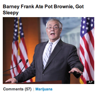 I haven't done this in a while! Huff Post Headlines! Such hard-hitting headlines!