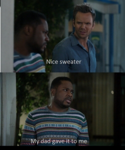 community-overdose:  I see what they did there Click for the best Community tumblr ever.