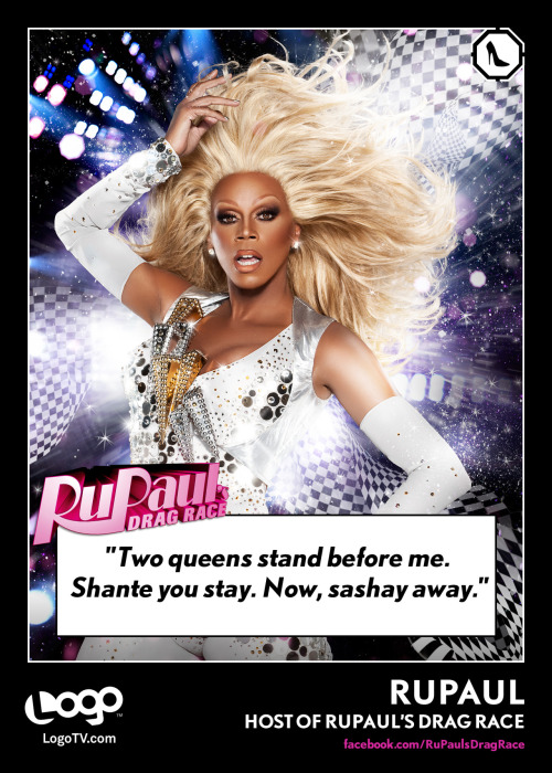 Trading Card Thursday: RuPaul  REBLOG if you're a fan of the show!