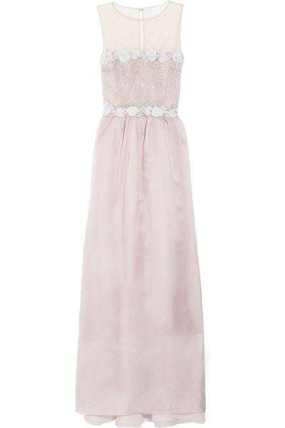 evachen212:  this pale and pretty whisper of a Valentino dress: swoon  Dresses like this are made to be worn for no other reason than to feel beautiful and lovely and soft, like a flower petal blooming.