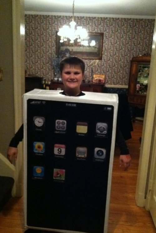 The New iPhone5 is Bulkier Than Expected Ugh, it's like the size of a kid, or something.