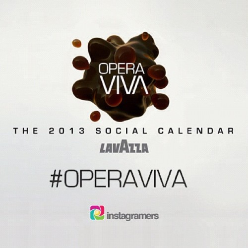 Do you want to be part of the next Lavazza Calendar series? #OperaViva! @lavazzaey @igersitalia! You can feature in 2013 Social calendar!   You have the chance to follow in the footsteps of top photographers such as Helmut Newman, David La Chapelle, Annie Lebovitz to name a few…   Just tag your best photos #OperaViva to reflect the following themes: Neon. Dream. Dark. Awake. Dress. Work. Sun. Shadows. Rush hour. Home. Food. Play and COFFEE!   Good Luck! (Taken with Instagram)