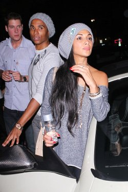 @NicoleScherzy leaving the Supper Club in Hollywood with Antony Preston and Will.I.Am - September 25, 2012 For more pictures click on the above one! :)