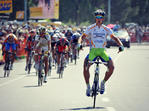 The legs, baby. The legs. | Stage 5 of the 2010 Tour of California (Photo by Darrell Parks)