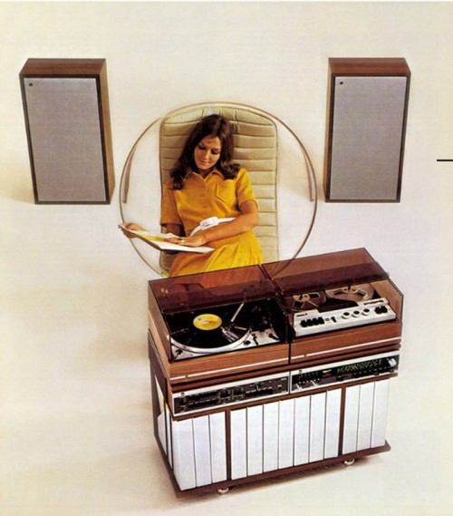 scanzen:  Dual Stereo advertising photo, 1973/1974.