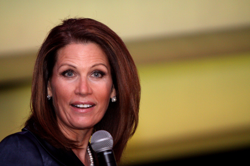 "Bachmann so full of crap she exceeded the AP's fact-checking capacity.  	 		Citypages: 	 		You just can't make this up, folks. 	 		Michele Bachmann is so divorced from Aristotelian logic that the Associated Press imposed a ""self-imposed Michele Bachmann quota"" when fact-checking her during the Republican presidential primary season. No, really! From the Washington Post: 	 		In a panel of fact-checking all-stars this morning at the National Press Club, a predictable question arose: What about the studies that have shown that fact-checking operations are tougher on Republican than Democratic politicians? 		Among the points raised by the panel was that the balance over the past year has been skewed by the barroom brawl also known as the Republican primary season. A lot of nodding ensued. 		Jim Drinkard, an Associated Press (AP) editor who oversees the wire service's fact-checking work, said, ""We had to have a self-imposed Michele Bachmann quota in some of those debates."" 		After the session, Drinkard said that there wasn't an actual numerical quota on Bachmann at the AP. It's just that if the AP had gone back and vetted all her claims that looked dicey, the result would ""overload"" the debate story. ""Often she was just more prone to statements that just didn't add up,"" said Drinkard.   	I'm not even sure her name is really ""Michele Bachmann."" I mean, it's spelled weird. Come on…  	[image source]"