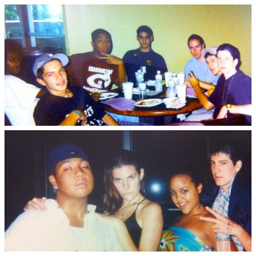 "#throwbackthursday my days at CSSA '99.  Homie @derekweisberg ""Gump"" and myself ""Elmo"". This school solidified my goals to be an artist.  (Taken with Instagram)"