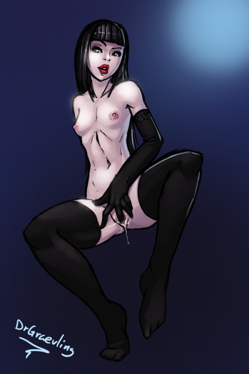 drgraevling:  Quickie Commission - Pale girl