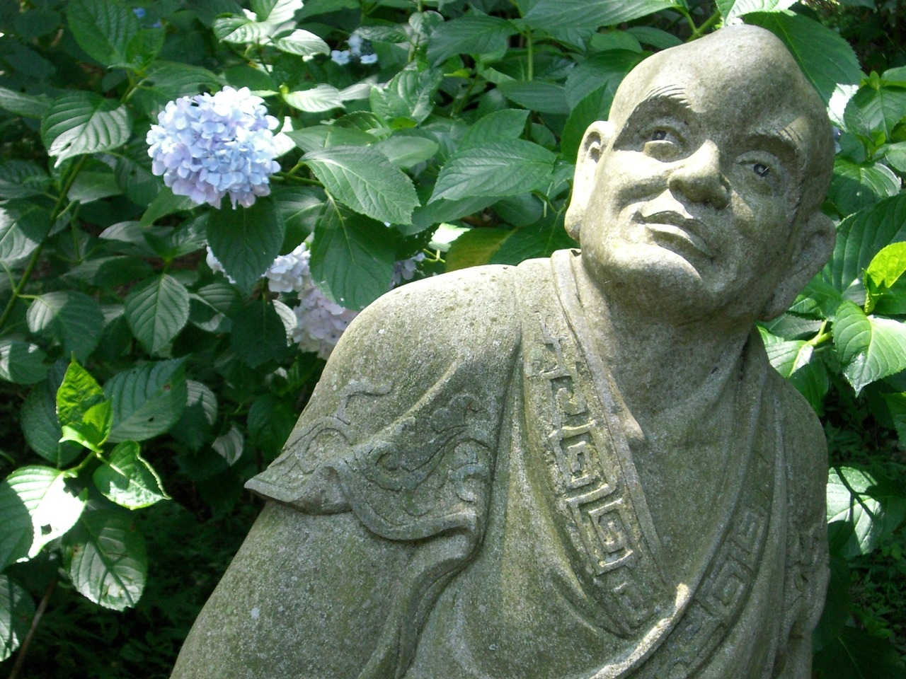 Statue from a buddhist temple in Japan.