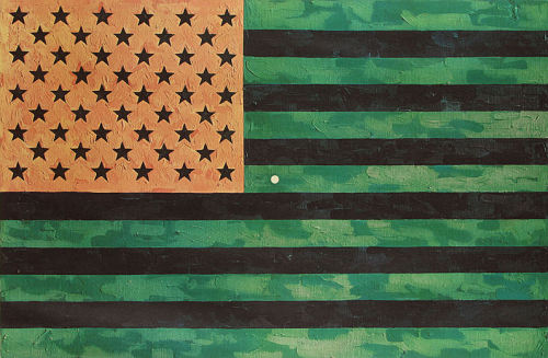 Moratorium by Jasper Johns.