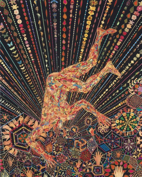 Fred Tomaselli (b. 1956)Organism Post-War & Contemporary Art Evening Auction