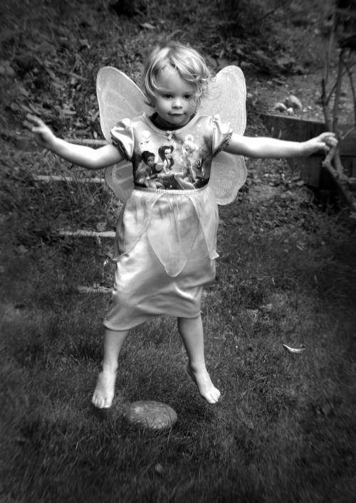 My fairy girl in flight - September in Washington