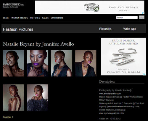 Jennifer Avello for Fashionising.com