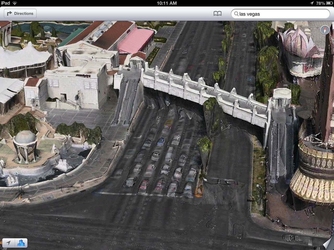 to:  The Amazing iOS 6 Maps: Las Vegas is melting.