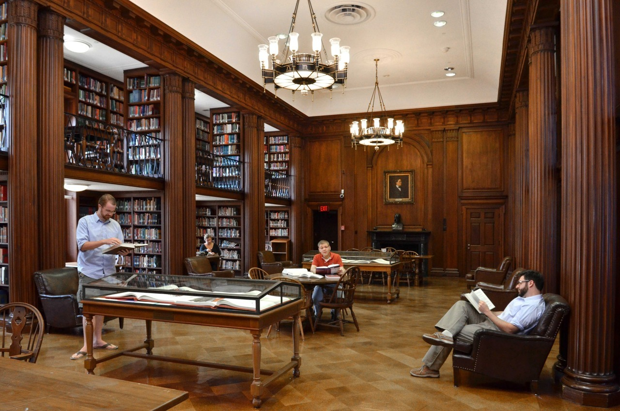 Yale Sterling Library Room