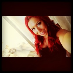 Switched to red hair! Instagram: oliveramaria