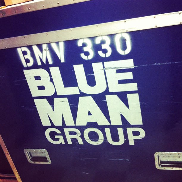 .@bluemangroup are moving in!!  (Taken with Instagram)