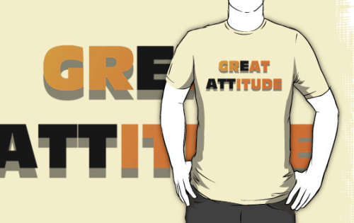 A great attitude is gratitude. T-Shirts & Hoodies by RJtheCunning | Redbubble