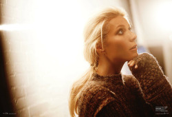 Gwyneth Paltrow photographed by Carter Smith for Elle Magazine | September 2011 Gwyneth is 40 today. Happy birthday Gwyneth!