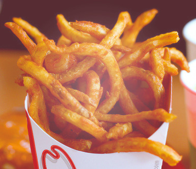 nomphotosets:  favourite foods - curly fries.
