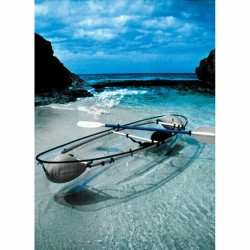 Very cool! arianalee89:  Transparent canoe kayak