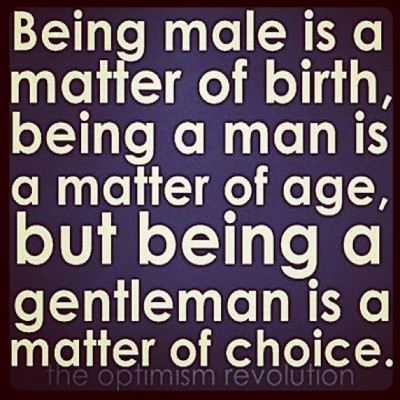 perrell:  #Agree #gentleman  (Taken with Instagram)