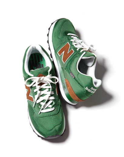 GQ Selects: New Balance 574 Backpack Sneaker