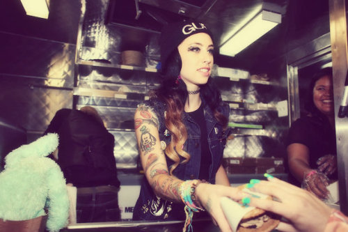 kreayshawn:  new job