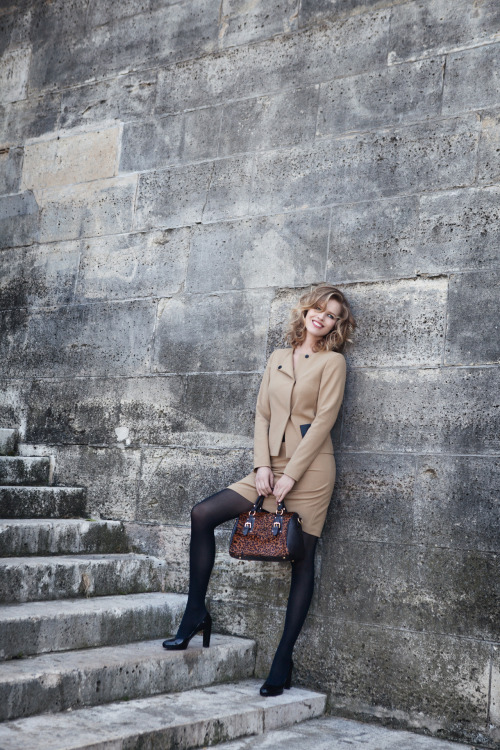 1.2.3 Fall/Winter 2011 Model: Eva Herzigova