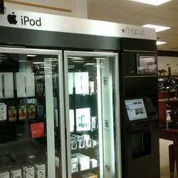 Mac vending machine in the mall… (Taken with Instagram)