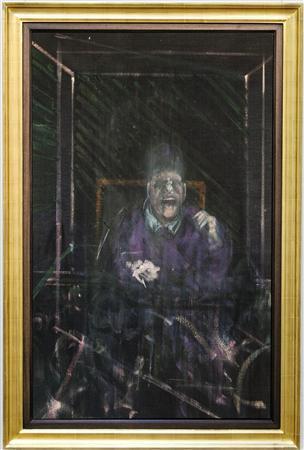 "A painting from Francis Bacon's iconic screaming Pope series, which has not been seen in public since 1975, is hitting the auction block where it is expected to sell for as much as $25 million, Sotheby's said on Thursday. ""Untitled (Pope),"" which Bacon painted circa 1954, will be sold at the November 13 New York sale of impressionist and modern art, the auction house said in a statement."