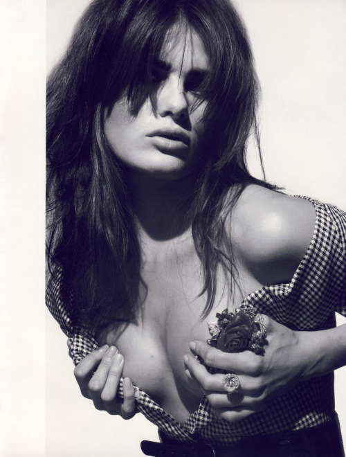 "Vogue Paris June / July 2009 ""Florilège"" Model: Isabeli Fontana ph: Patrick Demarchelier"