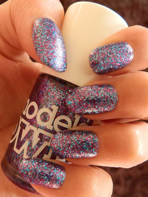 Models Own - Ibiza Mix The perfect sparkle pony nail polish!