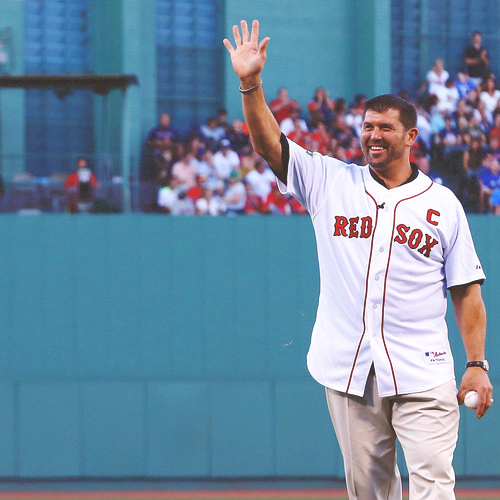 "the-destroia:  Boston Red Sox name Jason Varitek Special Assistant to the General Manager  ""The Boston Red Sox today named Jason Varitek Special Assistant to the General Manager.  The announcement was made by Executive Vice President/General Manager Ben Cherington. 'Jason was one of the most respected players of his era and will be a key voice as we move forward,' said Cherington.  'He will be involved in a number of areas including Major League personnel decisions, evaluations, and mentorship and instruction of young players.  We are fortunate to have him in this role.'"""