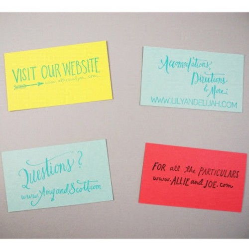 Just added to the shop- custom website rubber stamps #wedding www.paperpastries.com (Taken with Instagram)