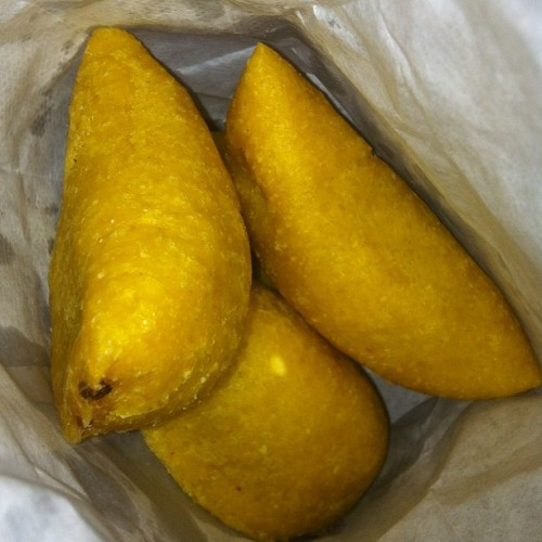 Empanadas from la fogata. Finna go down! (Taken with Instagram)