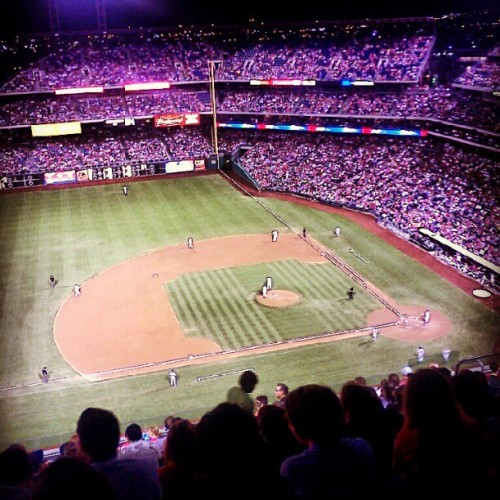 Drexel night at the Phillies!  (Taken with Instagram)