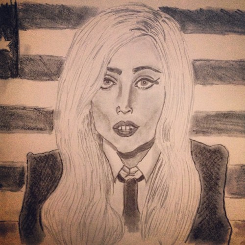 Gaga for President (Taken with Instagram)
