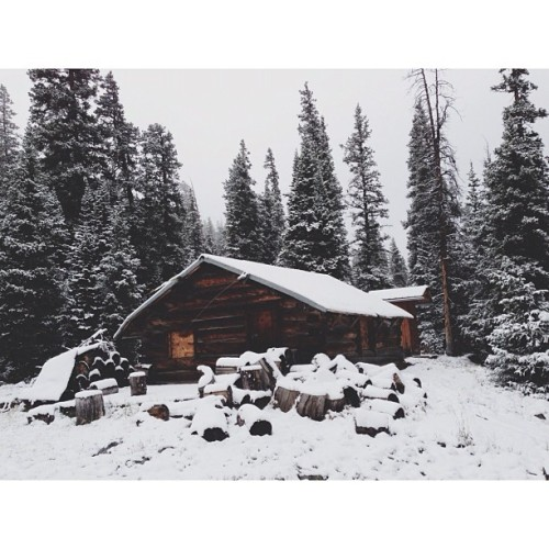 Colorado cabin (Taken with Instagram at White River Nat'l Forest)