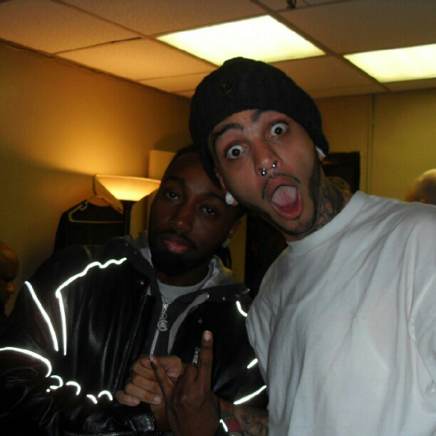 #TBT The homie @TravieMcCoy from G.C.H. Crazy mofo and a genuinely good dude. #Salute (Taken with Instagram)