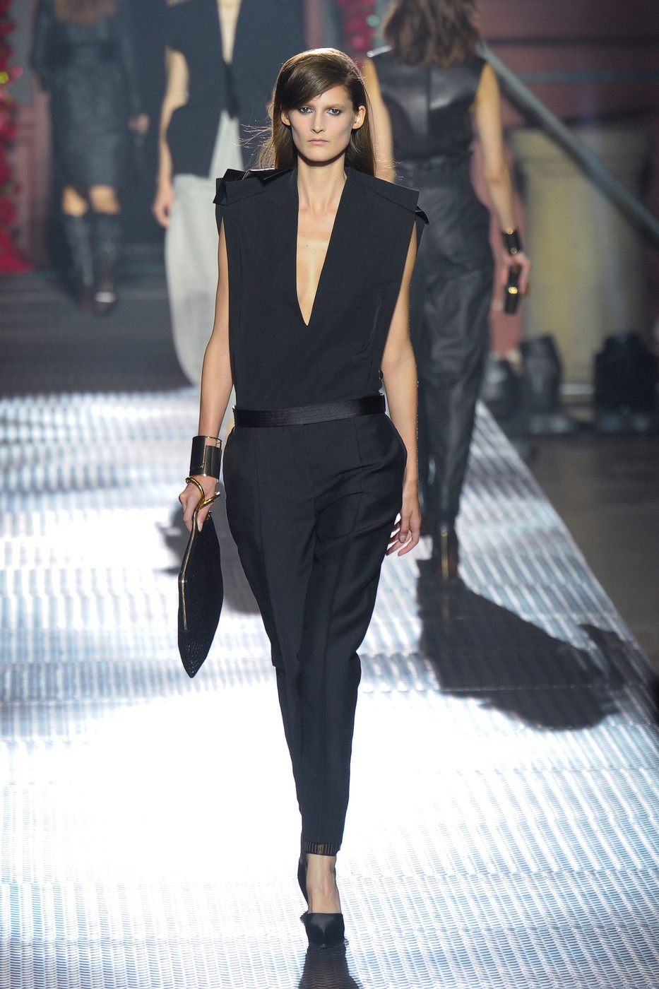 thefashiondontlivewithoutvogue:  Marie Piovesan - Lanvin Spring/Summer 2013 (Runway)