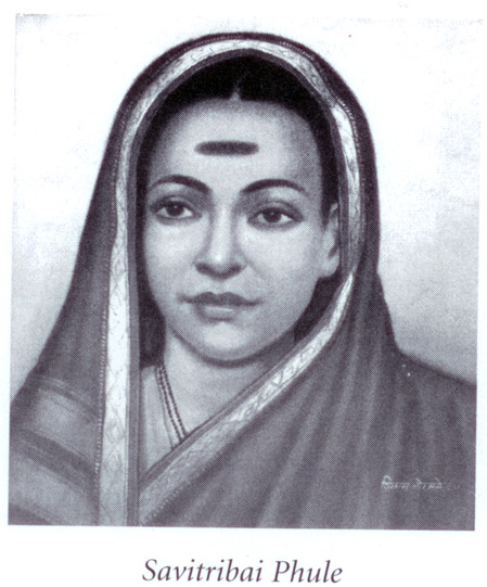 "southasianhistory:  Savitribai Phule was born in a well-to-do farmer`s family on 3rd January 1831 at Naigaum of Satara district in Maharashtra. She was married to Jyotiba Phule at the age of nine. She was encouraged by her husband to get educated and thus started her journey in the emancipation of the women-folk of her village. As Jyotiba Phule required women teachers to assist him in attaining his goal, he decided to first teach and train his own wife as a teacher. Slowly the news of his teaching Savitri reached his father who threatened to drive him out of his house, fearing attack from orthodox elements. When the choice before Savitribai was either going away with her husband or staying back with her in-laws, she preferred to be with her husband. Then, Jyotiba sent her to a to a training school from where she passed out with flying colours along with a Muslim lady Fatima Sheikh. When Savitribai completed her studies, she along, with her husband, started a school for girls in Pune in 1848. The nine girls who enrolled themselves as students belonged to different castes. Leaving the house in the morning and going to the school was an ordeal for Savitribai. Orthodox society was not prepared for this `misadventure`, as women`s education was frowned upon. It was believed that if a woman starts writing she would write letters to all. People claimed that the food, her husband ate would turn into worms and she would lose him by his untimely death. However, apart from all these oppositions, Savitribai yet continued to teach the girls. Whenever Savitribai went out of her house, groups of orthodox men would follow her and abuse her in obscene language. They would throw rotten eggs, cow dung, tomatoes and stones at her. She would walk meekly and arrive at her school. Fed up with the treatment meted out to her, she even decided to give up. But it was because of her husband that she continued with her efforts. Jyotiba purposely gave her two saris. He told Savitribai to wear the coarse sari on her way to the school to receive all the filth that society heaped on her, whereas the other one was to change before her classes. She would then, again wear the same dirty sari while returning home. The ordeal continued for a long time till Savitribai had to slap a person who tried to molest her. That slap brought to an end her ordeal and she continued her job of teaching. Slowly and steadily, she established herself. She started more schools and was ultimately honoured by the British for her educational work. In 1852 Jyotiba and Savitribai were felicitated and presented with a shawl each by the government for their commendable efforts in Yishrambag Wada. However, it was not only in the educational activities, but she always supported her husband in every social struggle that he launched. Once Jyotiba saw a lady stopped a pregnant lady from committing suicide and promised her to give the child his name, after it was born. After she was brought to his house, Savitribai readily accepted her and willingly assured to help her deliver the child. Savitribai and Jyotiba later on adopted this child. He then grew up to become a doctor and after Jyotiba`s death, lit his pyre and completed his duties as a rightful son. This incident opened new horizons for the couple. They thought of the plight of widows in Hindu society. Many women were driven to commit suicide by men who had exploited them to satisfy their lust and then deserted them. Therefore, Savitribai and Jyotiba put boards on streets about the ""Delivery Home"" for women on whom pregnancy had been forced. The delivery home was called ""Balhatya Pratibandhak Griha"". The next step was equally revolutionary. During those days marriages were arranged between young girls and old men. Men used to die of old age or some sickness and the girls they had married were left widows. Thus, widows were not expected to use cosmetics or to look beautiful. Their heads were shaved and the widows were compelled by society to lead an ascetic life. Savitribai and Jyotiba were moved by the plight of such widows and castigated the barbers. They organized a strike of barbers and persuaded them not to shave the heads of widows. This was the first strike of its kind. They also fought against all forms of social prejudices. They were moved to see the untouchables who were refused drinking water meant for the upper caste. Both Jyotiba and Savitribai opened up their reservoir of water to the untouchables in the precincts of their house. Savitribai shared every activity in which her husband was engaged. She suffered with him but she had her own distinctive personality. After his demise, Savitribai took over the responsibility of Satya Shodhak Samaj, founded by Jyotiba. She presided over meetings and guided workers. She worked relentlessly for the victims of plague, where she organized camps for poor children. It is said that she used to feed two thousand children every day during the epidemic. By a strange irony, she herself was struck by the disease while nursing a sick child and died on 10 March 1897. (via)    What a BAMF."